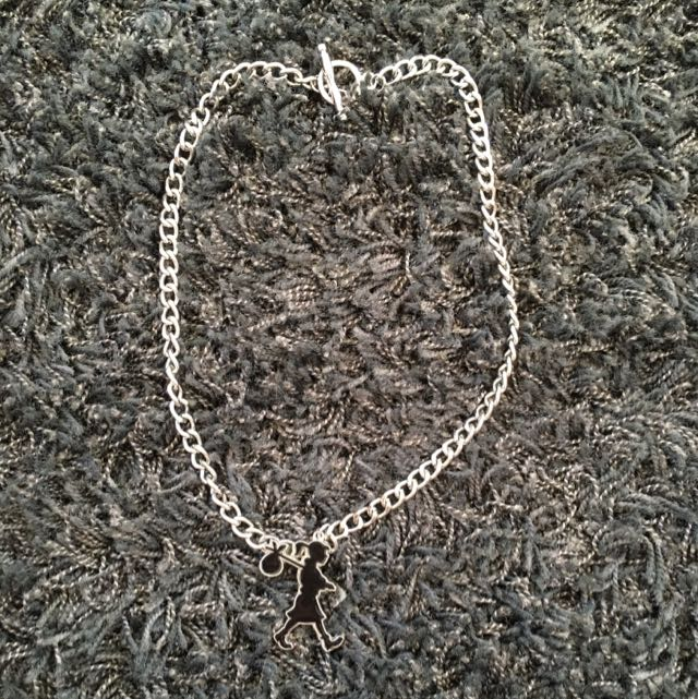 Karen Walker Chunky Runaway Girl Necklace