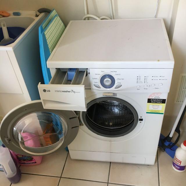 Lg front loader washer  7kg