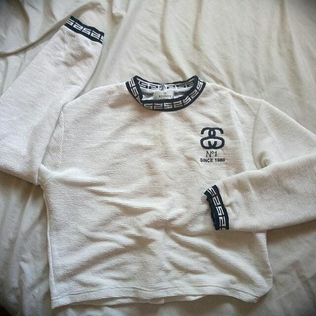 Long Sleeved Stussy Shirt