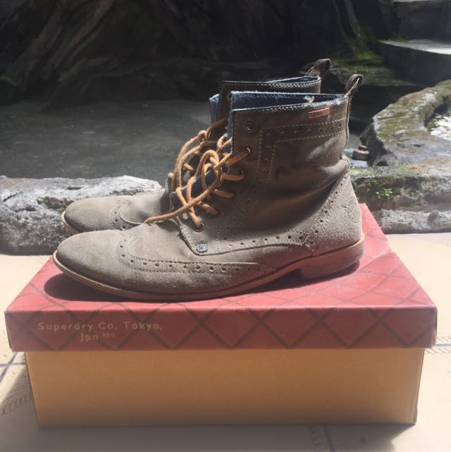 Longwing boots superdry original size 42