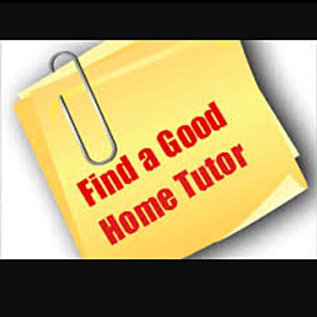Looking For Tutor For Your Child?