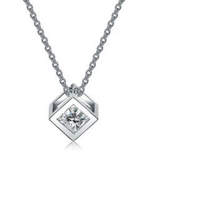 Mestige Cubic Crystal Necklace