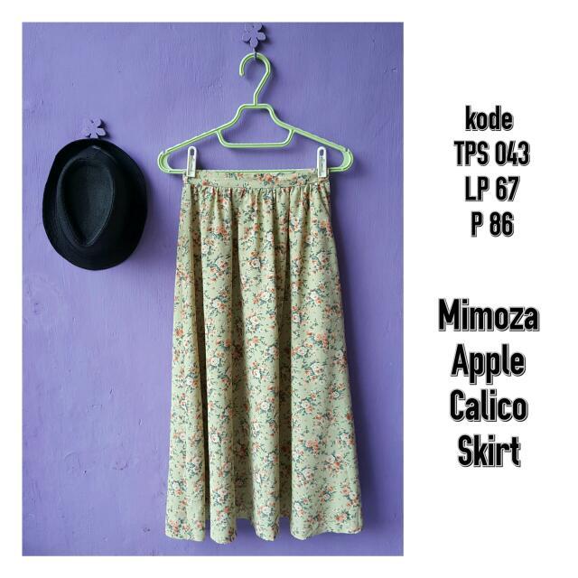 Mimoza Apple Skirt