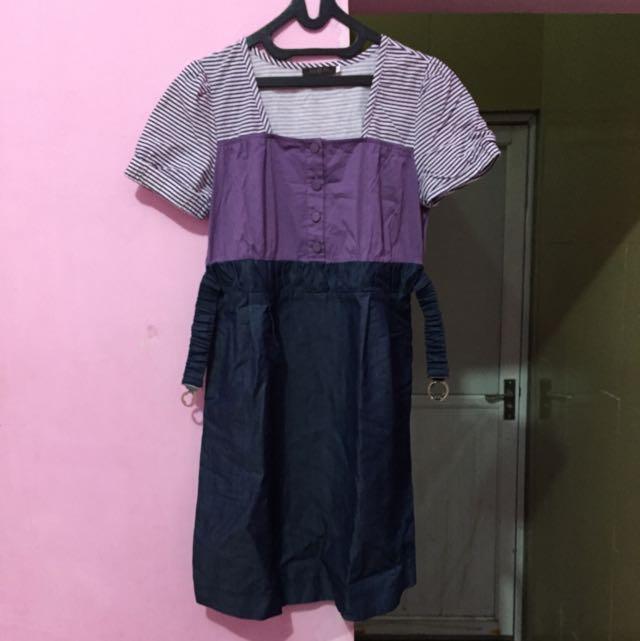 Mini Dress Ukuran M/L