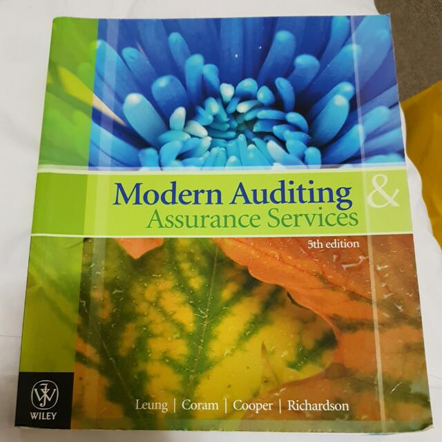 Modern Auditing & Assurance Services 5E 5th Edition Leung Coram Cooper Richardson