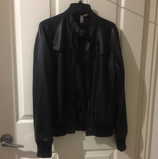 Element Leather Look Jacket