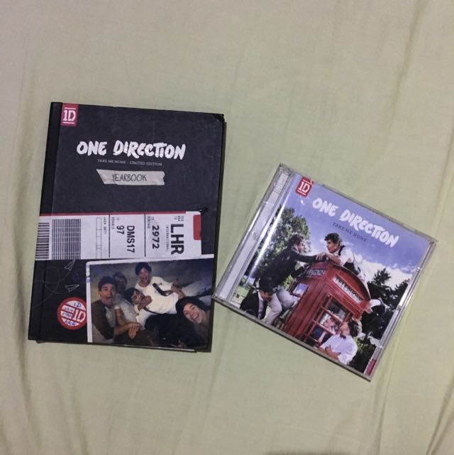 one direction take me home album package
