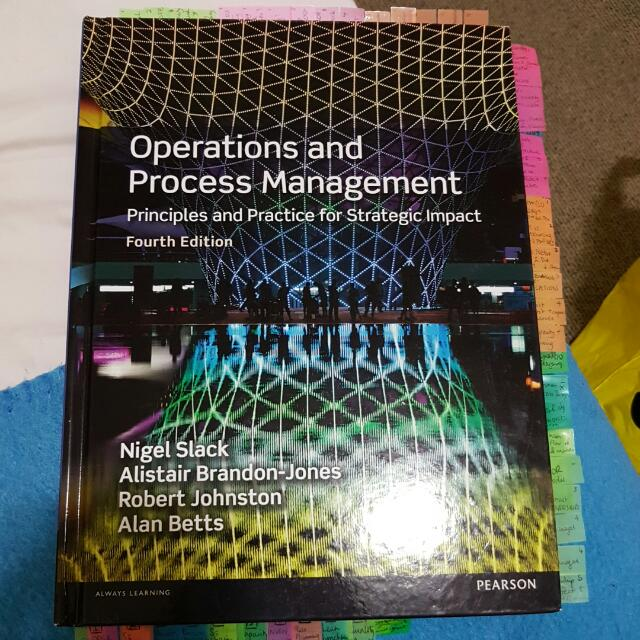 Operations And Process Management 4E 4th Edition Slack Brandon-jones Johnston Betts (AIB Hard Cover)