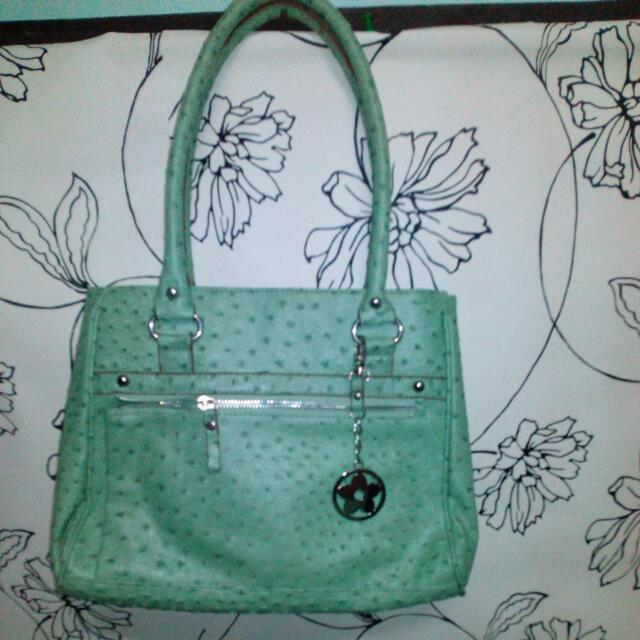Authentic Bueno Leather Multi-zip Handbag (Repriced)