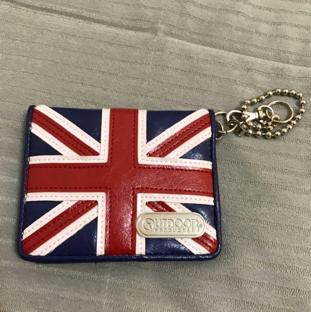 Outdoor 名片夾 英國旗