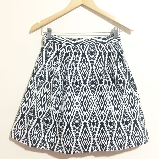 Paper Scissors Pattern Skirt