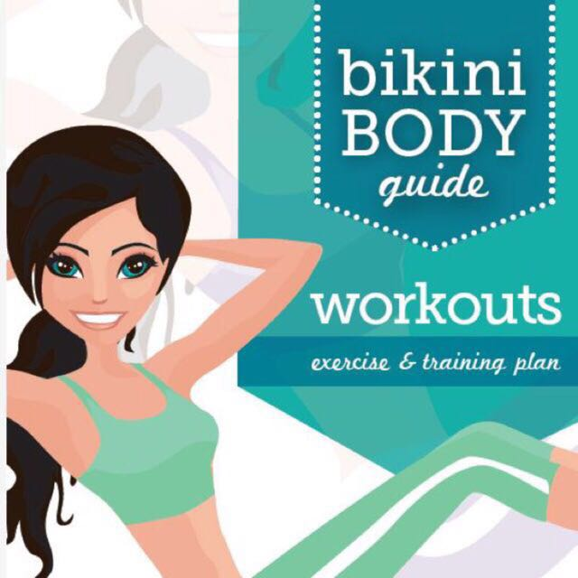 PDF Kayla Fitness And Workout OR Nutrition Booklet