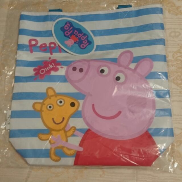 Peppa Pig 佩佩豬 包包 提袋 袋子