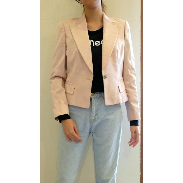 Pink Pastel Blazer