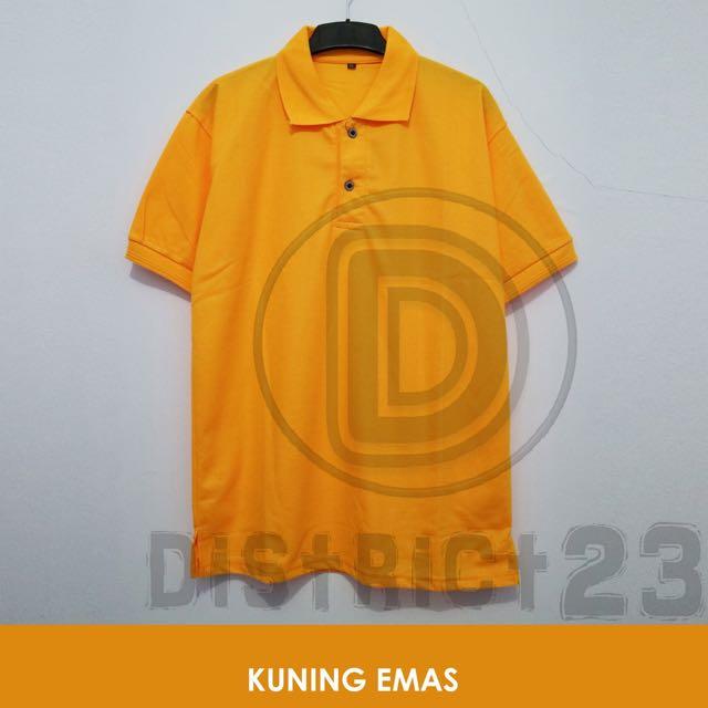 Polo Shirt Unisex : Size S - XXXL