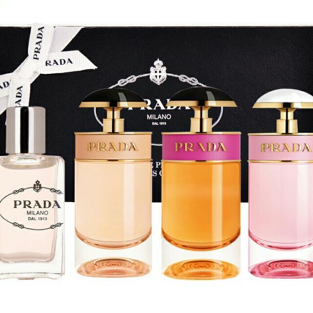 【PRADA】 經典女性小香水(共四款)(分開販售)(整組禮盒另有優惠)