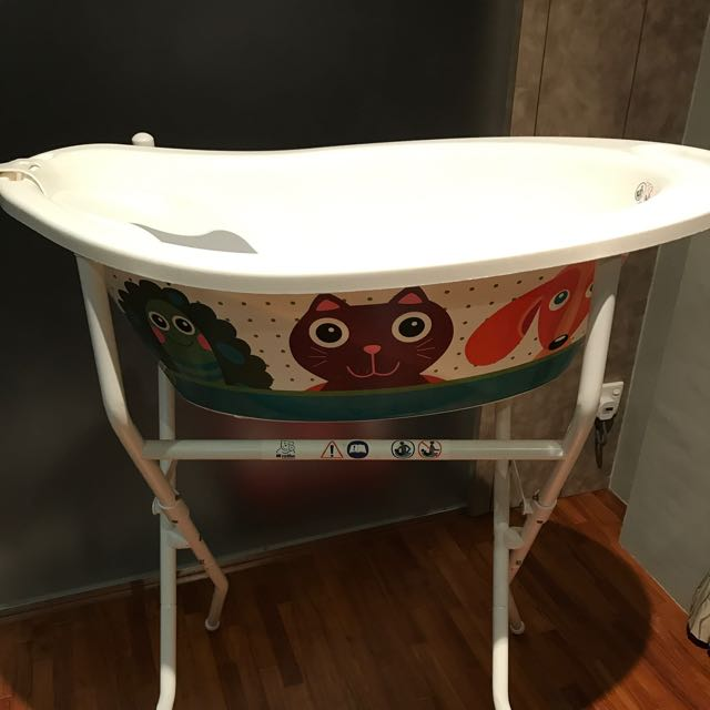 Rotho Babydesign Bath Tub With Stand Made In Swiss on Carousell