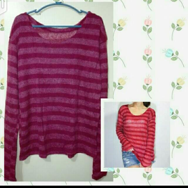 SALE!!! Striped Pullovers 😊