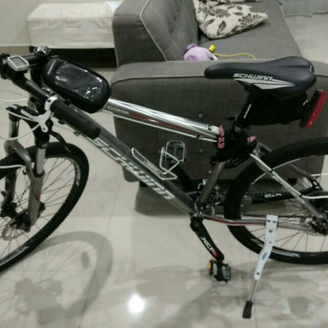 SCHWINN Mountain Bike Bicycle, Bicycles & PMDs, Bicycles on Carousell