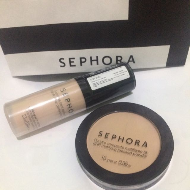 Sephora Foundation and Compacte