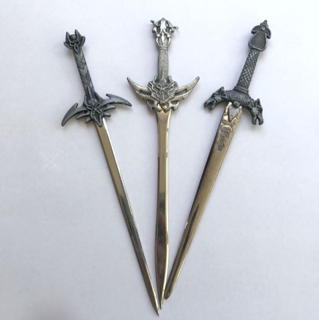 Set Of Decorative Letter-openers