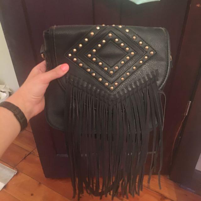 Sportsgirl Tassel Bag
