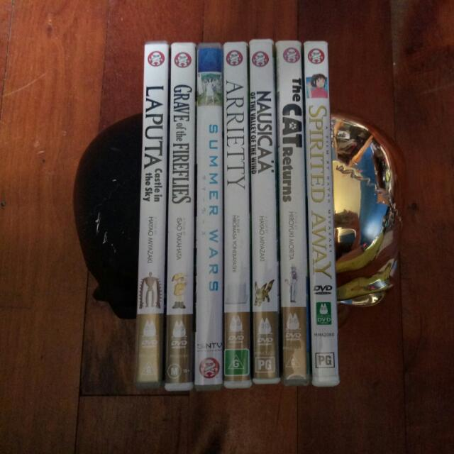 Studio Ghibli Collection 7 DVDs