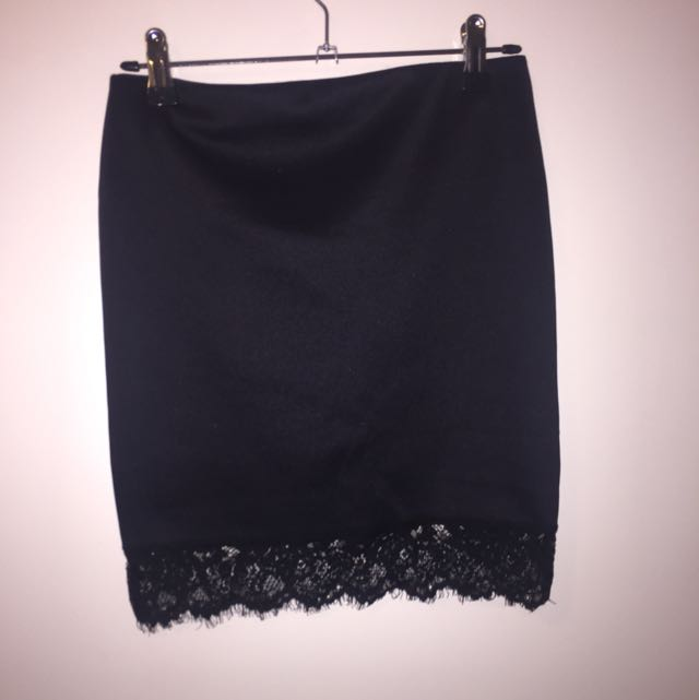 Supre Lace Thigh Skirt