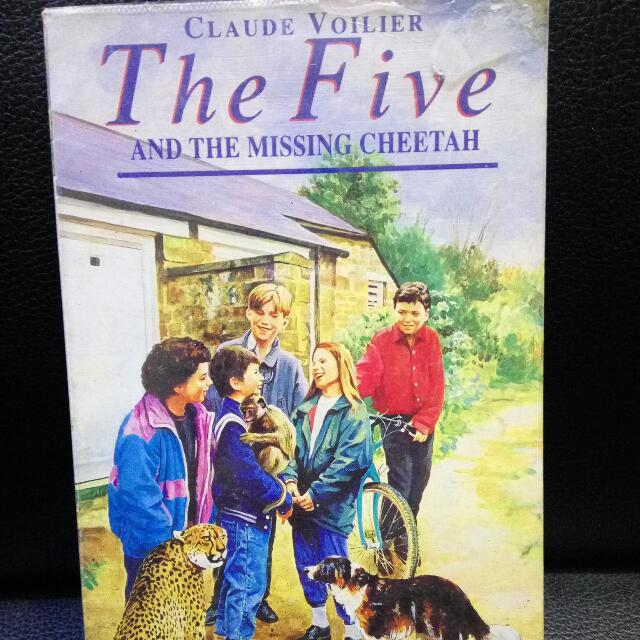The Five And The Missing Cheetah By Claude Voilier