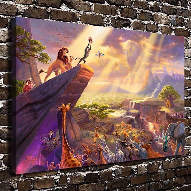 The Lion King Canvas Wall Art Print