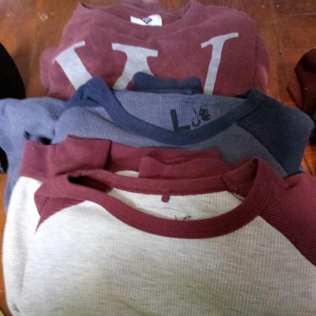 Three Sweatshirt/jumpers