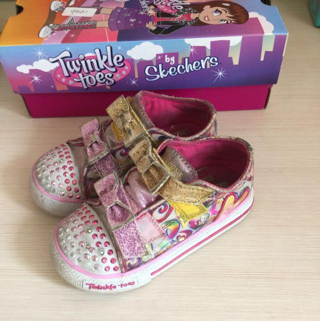 toddler skechers shoes (original)