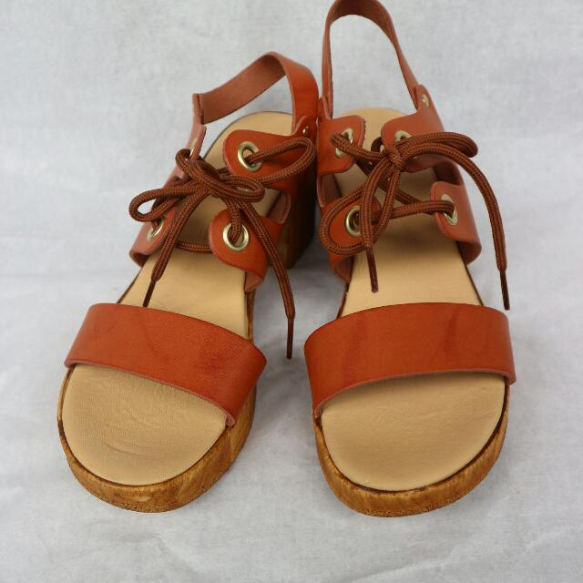 Topshop Brown Heels