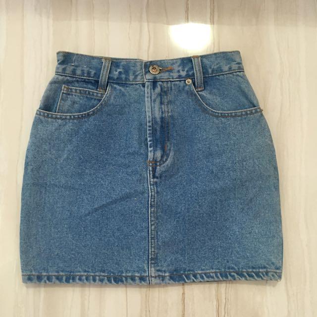 Topshop Inspired Denim Skirt
