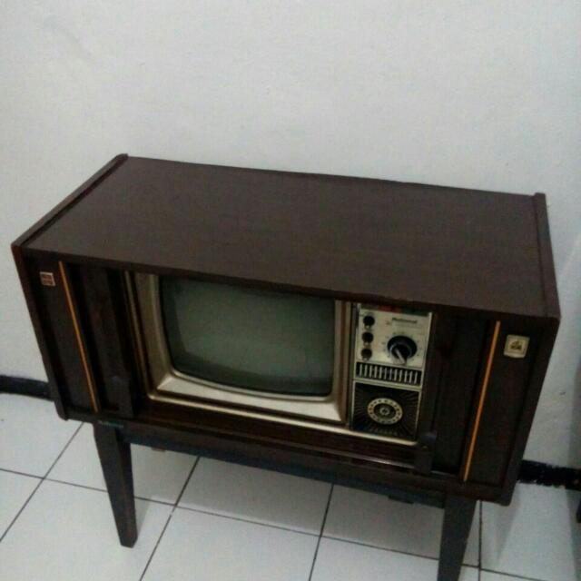 Tv National Jadul Antik Antiques Collectibles On Carousell