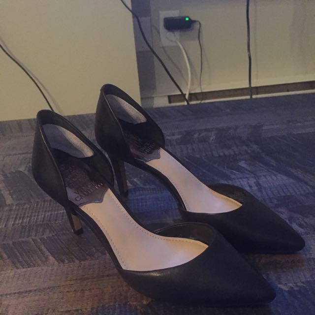 Vince Camuto Leather Heels - Size 7.5