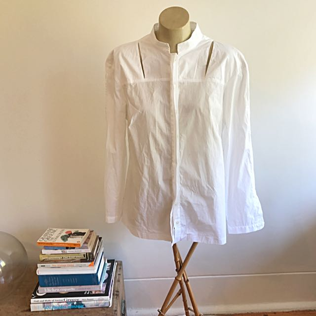Willow Cotton Cut-Out Shirt