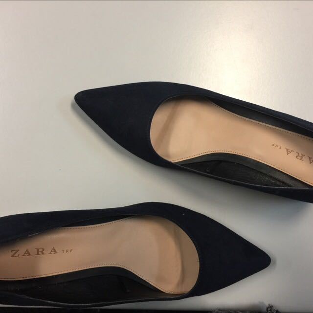 Zara medium heel pointed