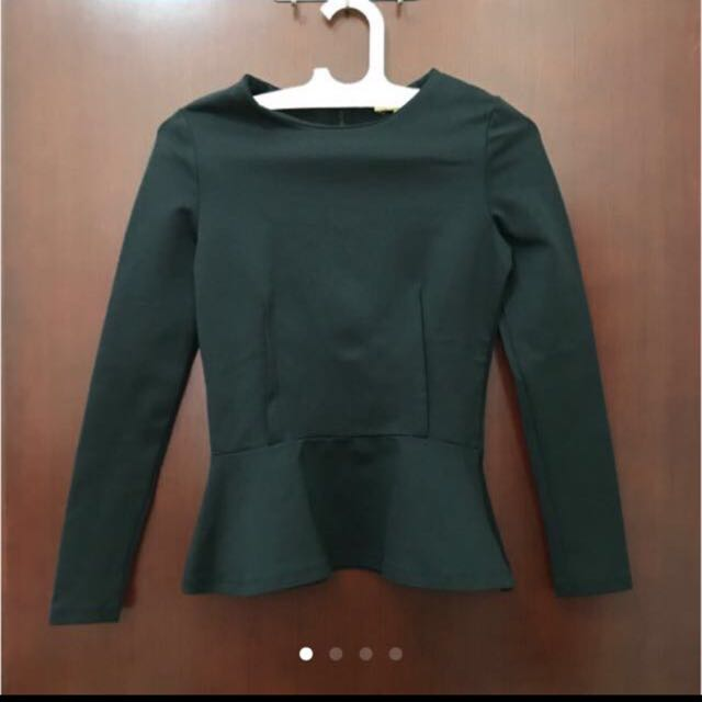 Zara Top Peplum