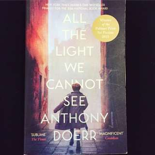 All The Lights We Cannot See by Anthony Doerr