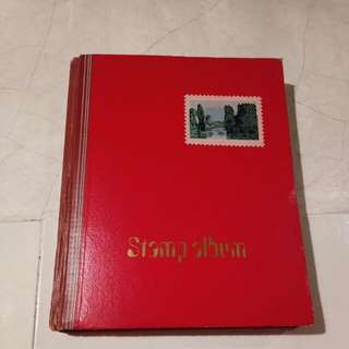 Stamps And Stamp Album