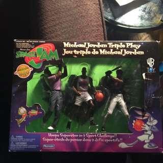 Michael Jordan Triple Play From Space Jam