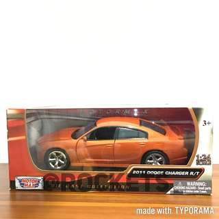1:24 Motormax 2011 Dodge Charger R/T