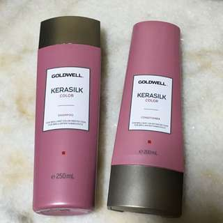 Goldwell Kerasilk Color Shampoo And Conditioner