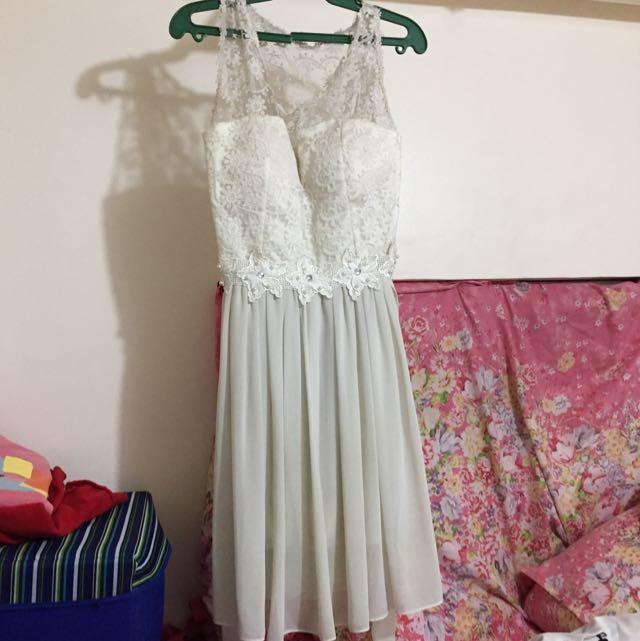 #012 White dress