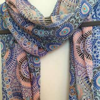 Colorful Summer Scarf