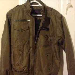 Men's Green Bomber Jacket