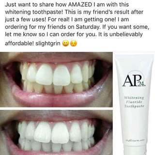 Most Effective Whitening Toothpaste