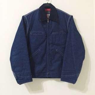 古著 Vintage 80's Oshkosh 單寧牛仔工裝 工裝外套 牛仔外套 美國製 Wrangler/Levis