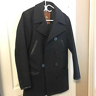 Club Monaco x Spiewak Long Peacoat